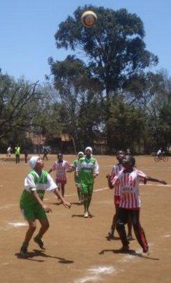 Two beneficiery girls in Green Uniform