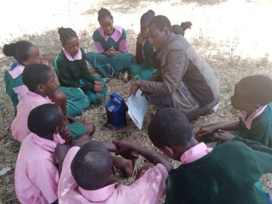 Audio learning in Marsabit