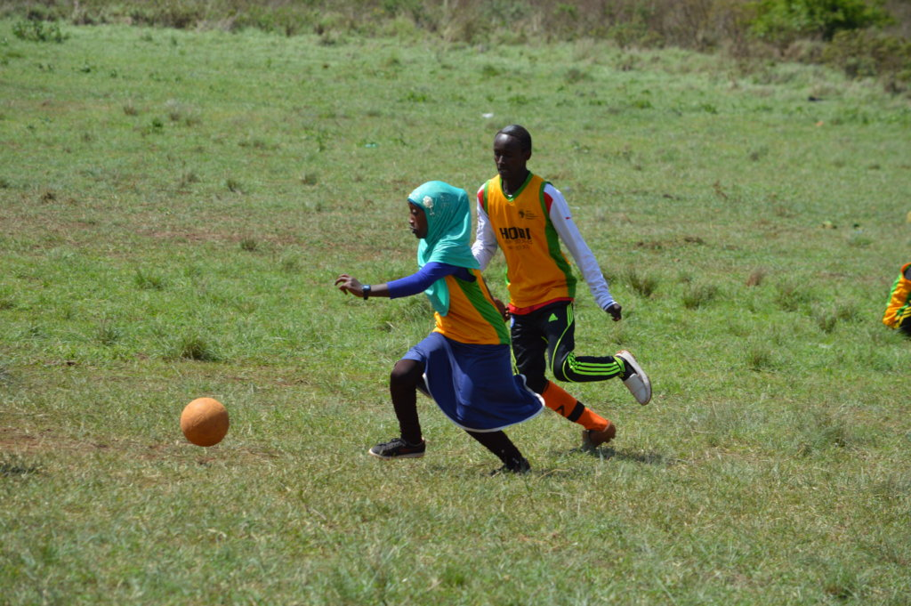 Football4Peace for 500 Children in Northern Kenya
