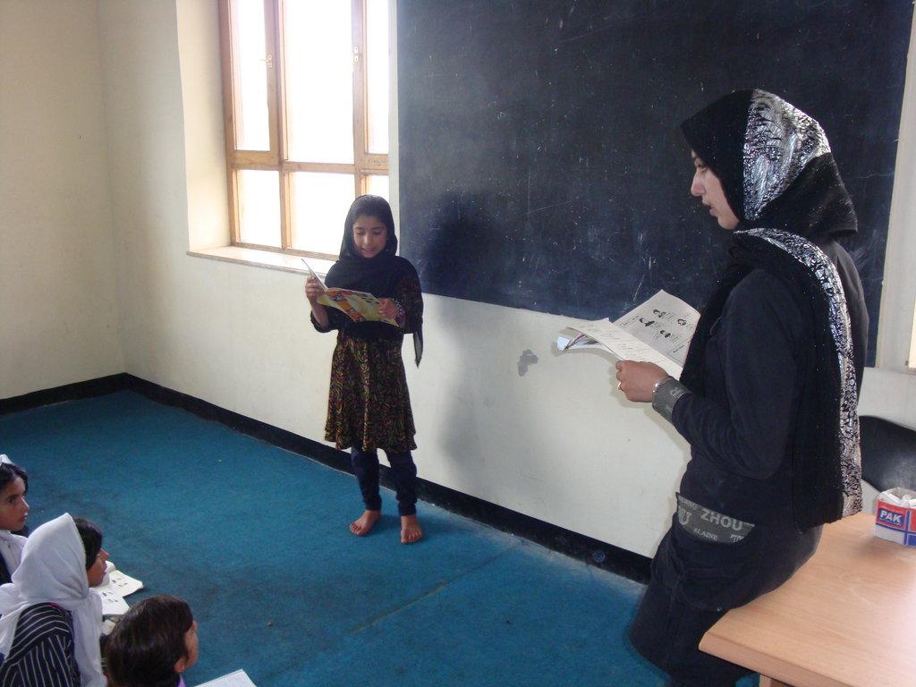 Elevate Afghan Women and Girls