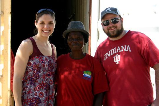 Davis & Mary Harwell with Rauha Heita in Okalongo