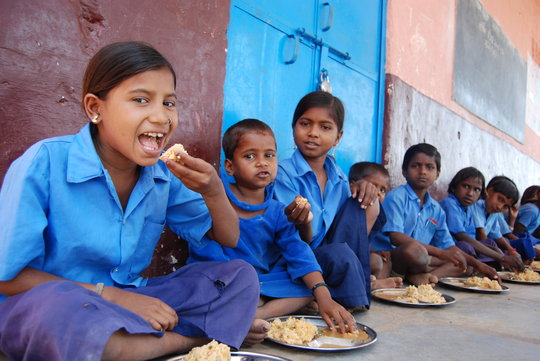 Midday Meal Program to fight against malnutrition
