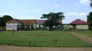 School ground progress