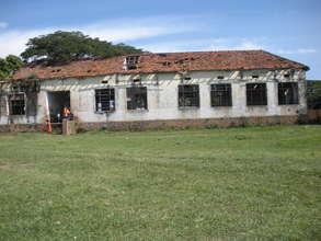 Rear view od classroom block