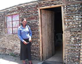 The house Hlengiwe built for her family