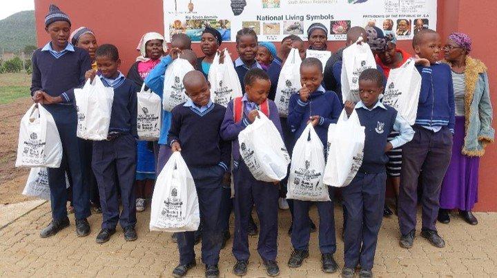 Khazimula CLA project provides school uniforms