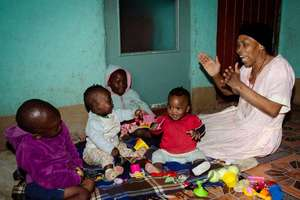 Mam' Ngubane* runs her creche from home