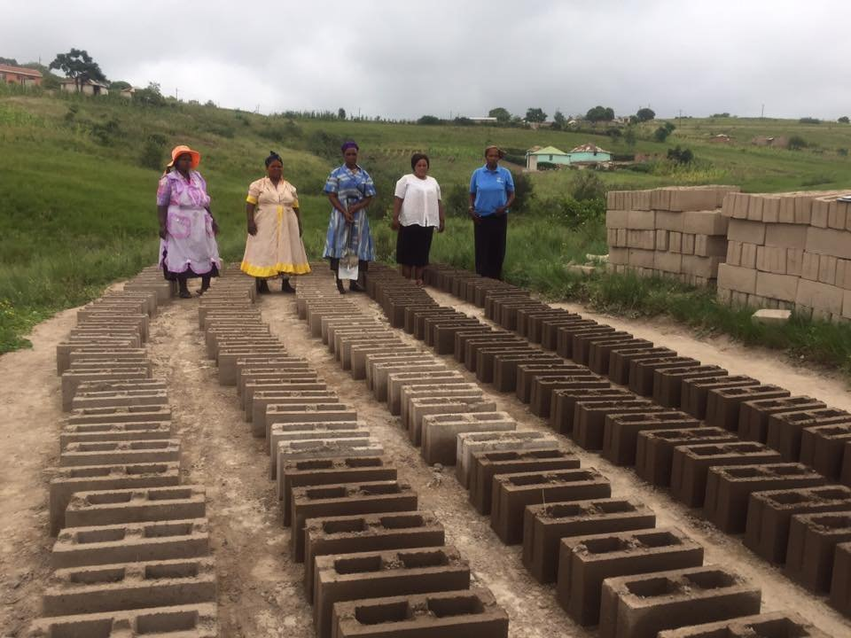Sesikhona SHG brickmaking business