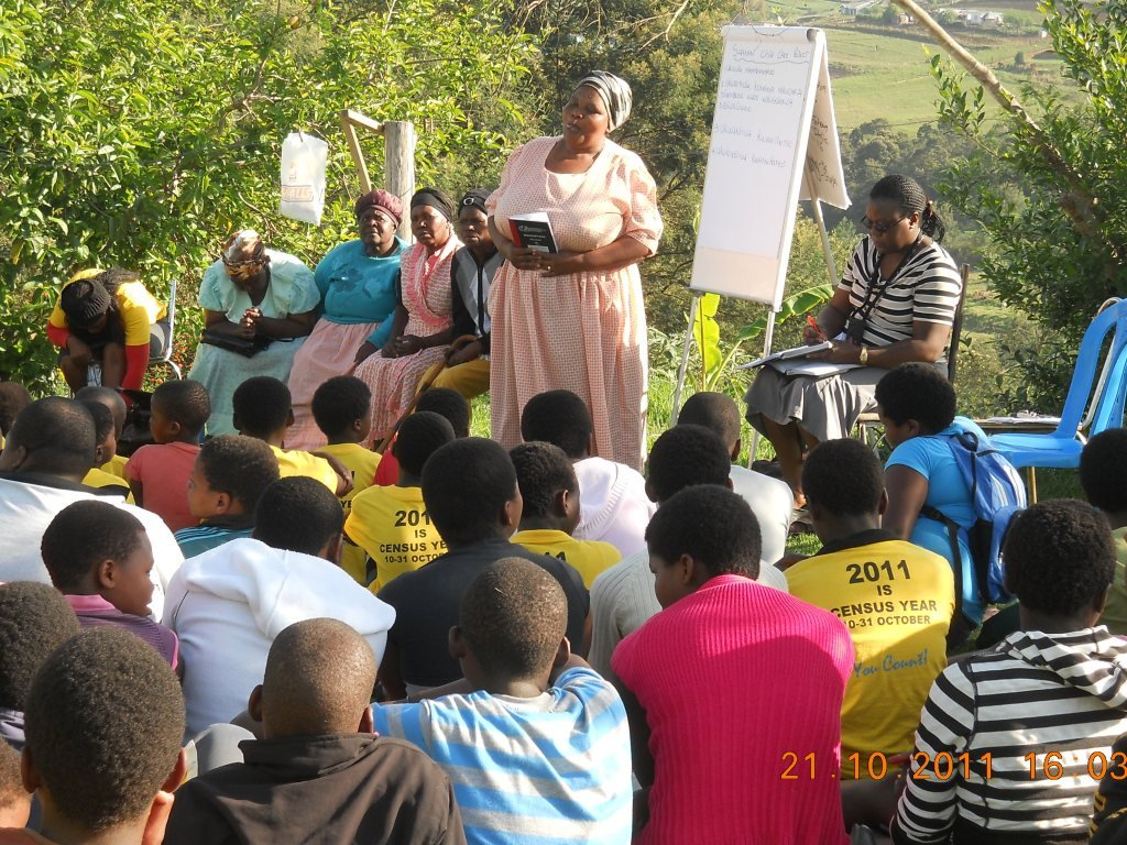 An SHG lifeskills project for young people