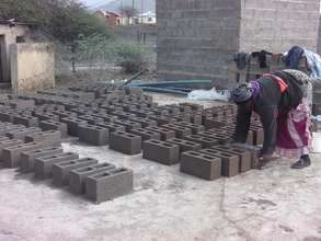 Over 6000 of the 20000 brick order have been made