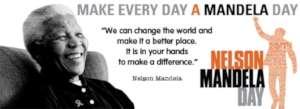 Make every day a Mandela Day