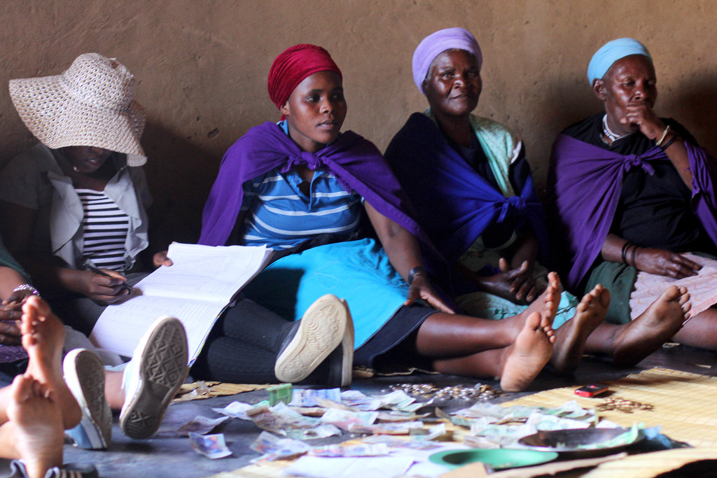 Self-help Groups for 2000 poor women in S. Africa