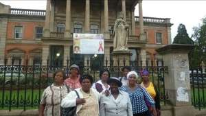 SHG members were invited to provincial parliament
