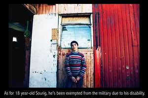 Sourig, 18 years old, second son