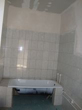a bathroom, close to be finished