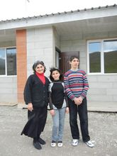 Karapetyan family finally in their new house
