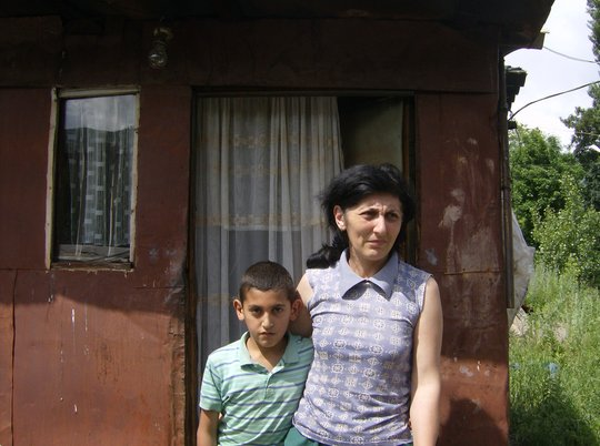 Homes for 15 families living in containers Armenia