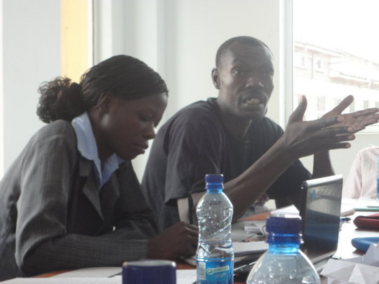 Librarians discuss plans for Mama Mtoto in Nairobi