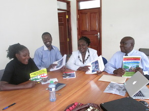 Local librarians attend training in Kisumu