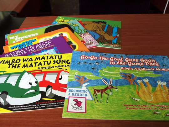 Books for the Mama Mtoto project!