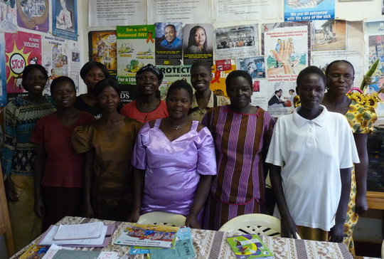 Portrait of Mamas participating in Busia