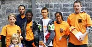 Nicetown community volunteers