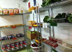 Fresh produce at the pantry