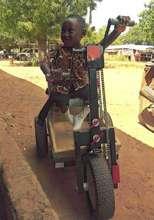 Baptist Medical Center gives Ghana boy a PET.