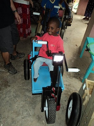 Second boy at Miriam Home Orphanage in Haiti