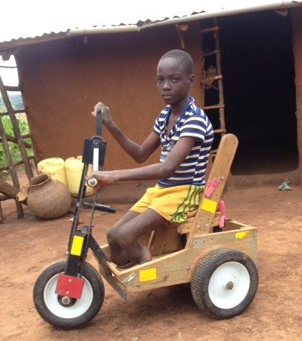 Tobias at home in Kenya