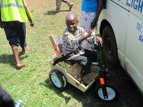 Kenyan Boy Has New Freedom