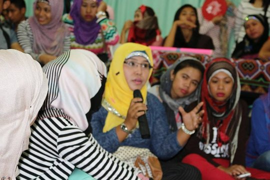 Participants at the recruitment roadshow