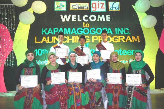 Launch of 10th Batch of KI  volunteers