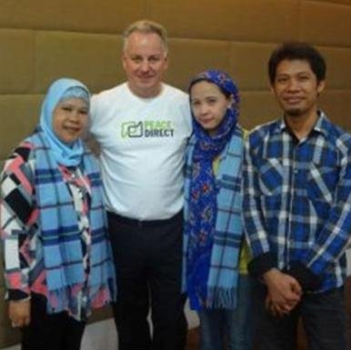 Lord Jack with Mariam, Ganie and Hafsa