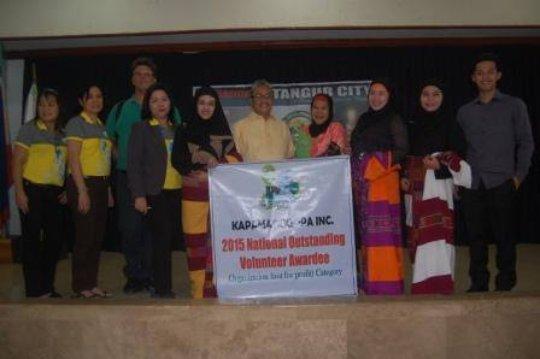 Regional award presentation