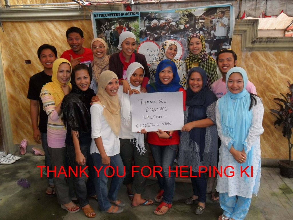 A big thank you from alumni volunteers and staff