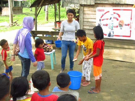 Teaching children about hygiene