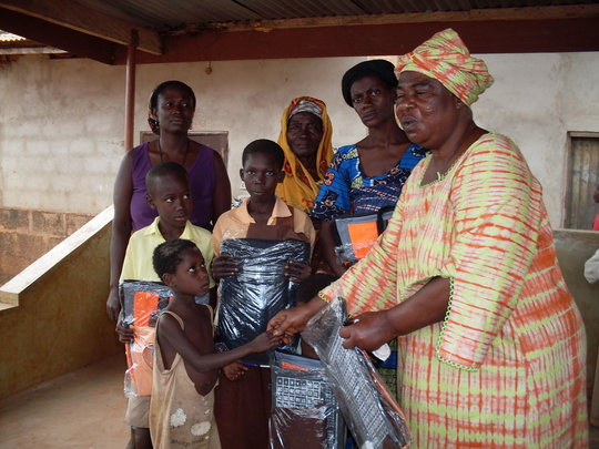 Empowerment of 150 Rural Women in Ghana
