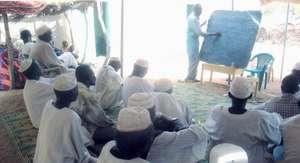 Community Members Participate in a Training