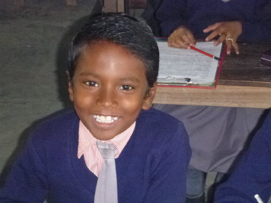 One of the children in Class