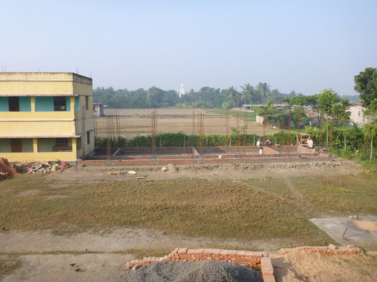 The Start of the new Building