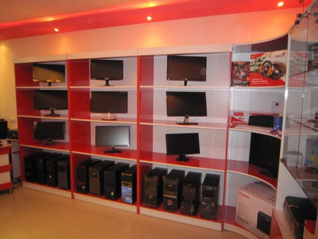 Modern computer sales center in rural Armenia