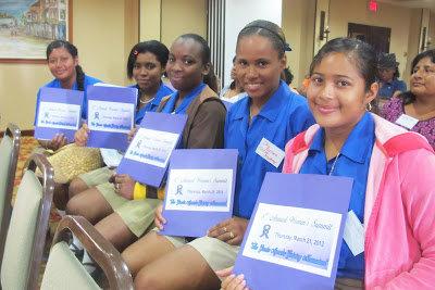 Field Trip to Belize City Women