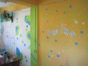 Form II classroom - student design and paint job