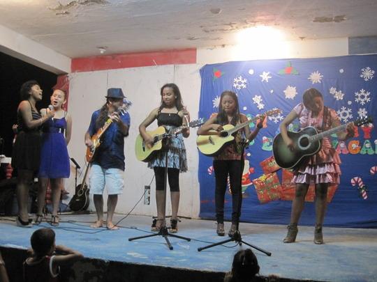 Christmas show performance