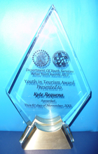National Award Youth in Tourism 2013
