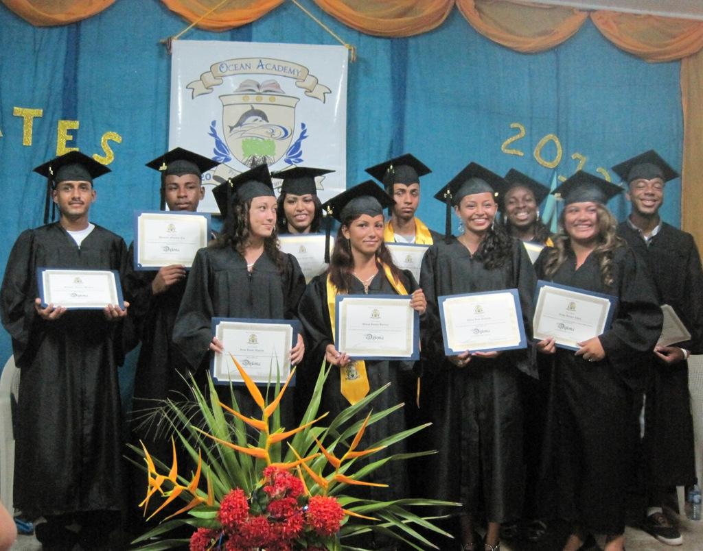 Ocean Academy Graduates 2013!