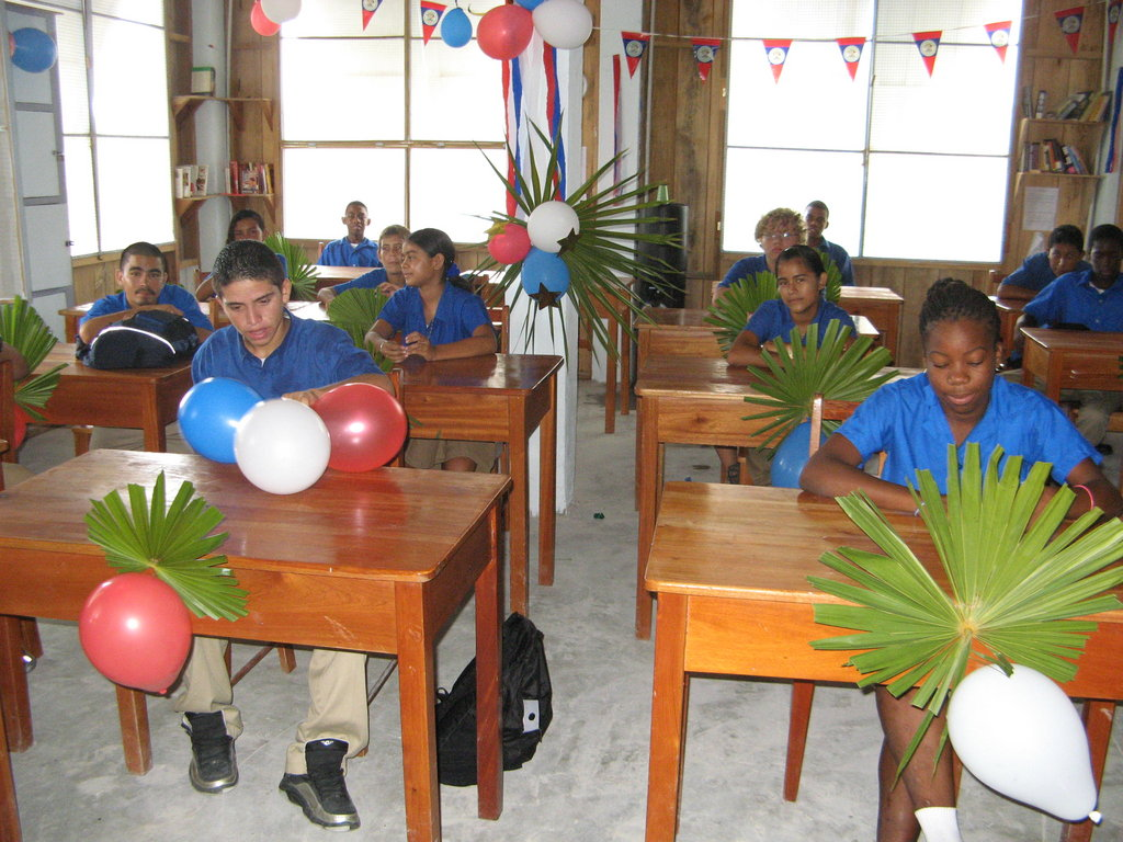 Send 100 Students to High School in Belize