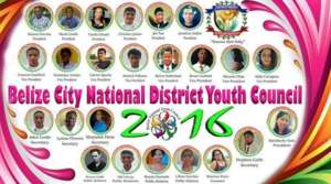 National District Youth Leadership election poster