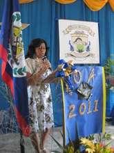 Principal Marin unveils official crest
